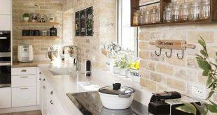 Weitere Ideen: DIY rustikale Küche Dekor Accessoires Marmor Küche Zubehör Ide...