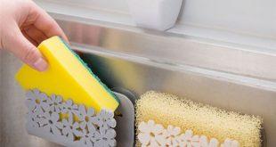Sponge Holder Soap Storage For Kitchen and Bathroom