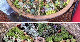 Heißt den Frühling mit diesen Garten DIY Dekoideen willkommen