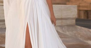 These halter neck wedding dresses are out-of-this-world beautiful!