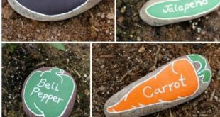 10 kreative DIY Garten Marker Handwerk