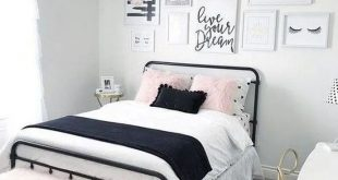 15 Teen Bedroom Ideas For Girls #girlroom #girlbedroomideas #roomdecoration – ...