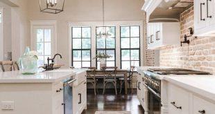 35 Genius Farmhouse Kitchen Decor for Your Style
