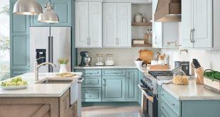 46 Vintage Cabinet Design Ideas For Kitchen