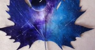 7 Easy Incredible Art On Leaves - Leaf Painting Ideas For Home Decor