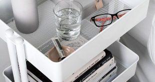 9 stilvolle Organisationsideen für kleine Schlafzimmer