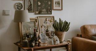 Home Tour: Bohemian Living Room · Happy Interior Blog