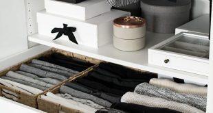 Wardrobe Drawer Organization
