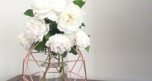 Weiß, Grau und Kupfer Master Bedroom - Lassen Sie sich inspirieren