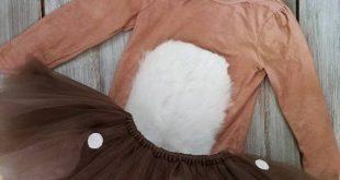 Wunderliche Kinderkostüm Hirsch mit Geweih Stirnband
