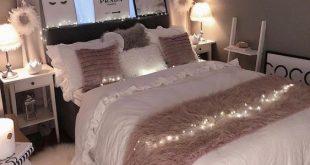 niedliche Schlafzimmerideen; gemütliche Schlafzimmerideen; rosa Schlafzimmerentwürfe; Schlafzimmer für Mädchen